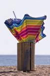 Wie entsorge ich einen alten Sonnenschirm?