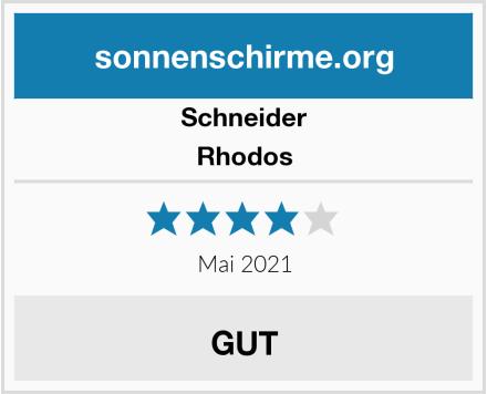 Schneider Rhodos Test