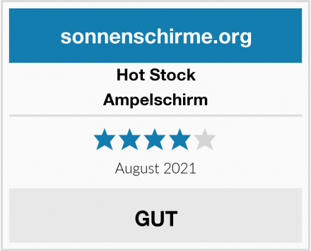 Hot Stock Ampelschirm Test