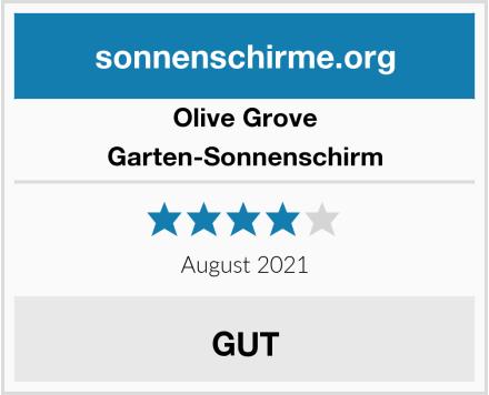Olive Grove Garten-Sonnenschirm Test