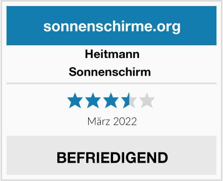 Heitmann Sonnenschirm  Test