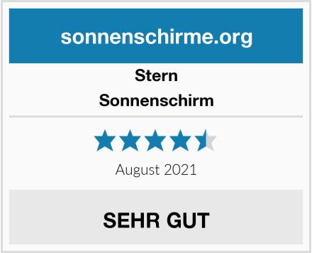 Stern Sonnenschirm Test
