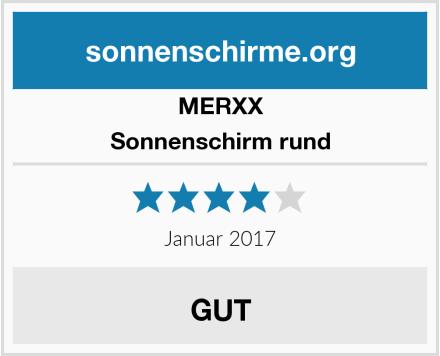 MERXX Sonnenschirm rund Test