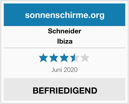 Schneider Ibiza Test