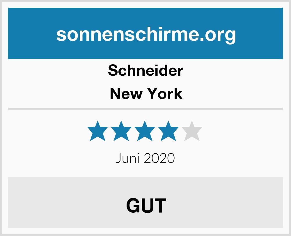 Schneider New York Sonnenschirme Test 2018