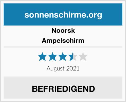 Noorsk Ampelschirm Test