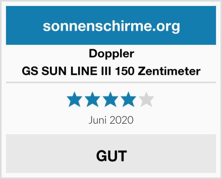 Doppler GS SUN LINE III 150 Zentimeter Test