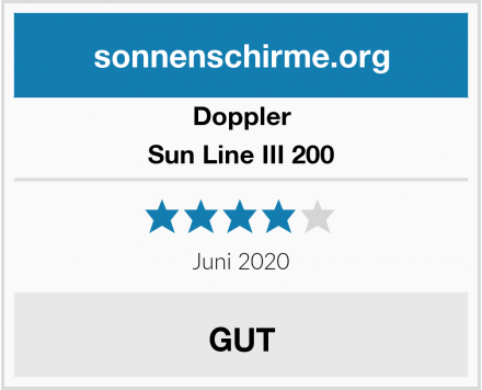 Doppler Sun Line III 200 Test