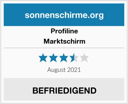 Profiline Marktschirm Test