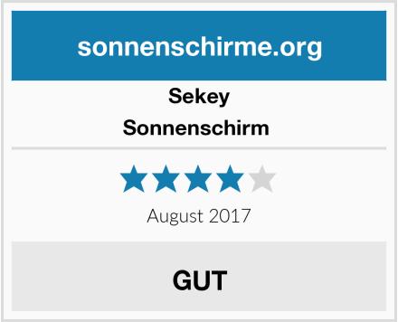 Sekey Sonnenschirm  Test