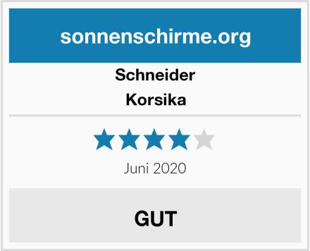 Schneider Korsika Test