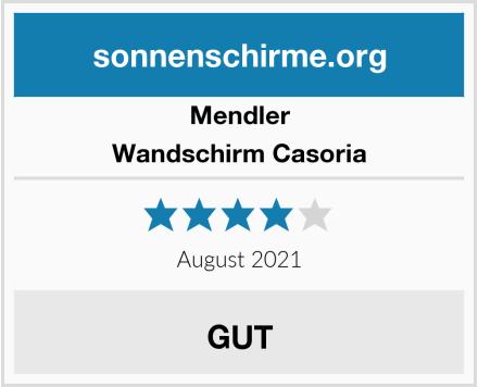 Mendler Wandschirm Casoria Test