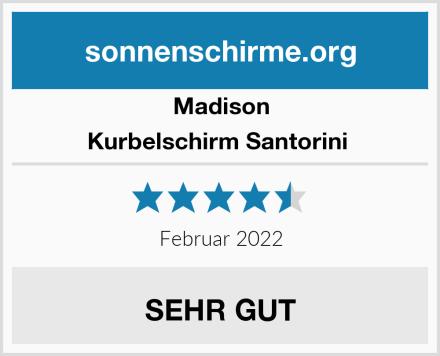 Madison Kurbelschirm Santorini  Test