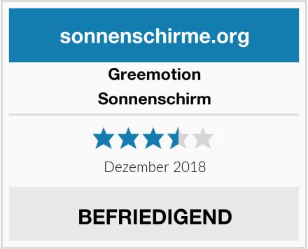 Greemotion Sonnenschirm Test