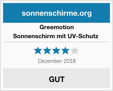 Greemotion Sonnenschirm mit UV-Schutz  Test