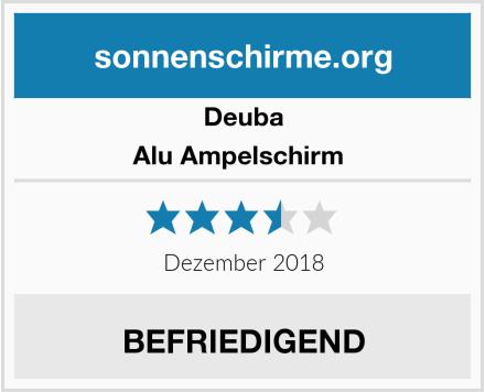 Deuba Alu Ampelschirm  Test