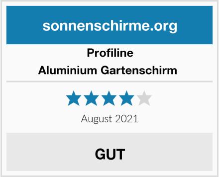 Profiline Aluminium Gartenschirm  Test