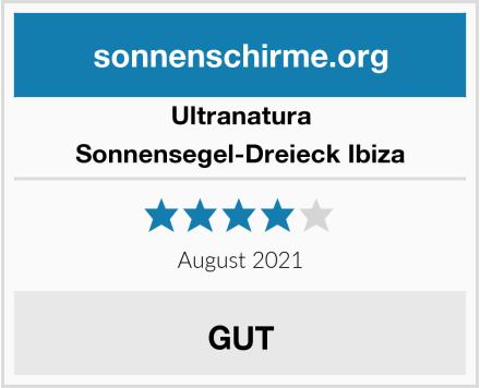 Ultranatura Sonnensegel-Dreieck Ibiza Test