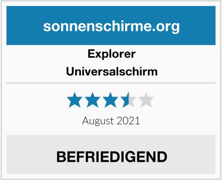 Explorer Universalschirm Test