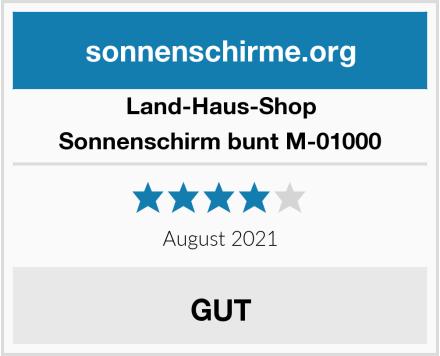 Land-Haus-Shop Sonnenschirm bunt M-01000 Test