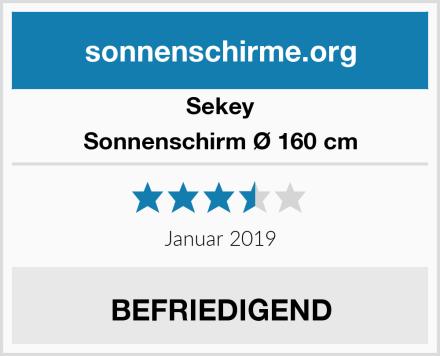 Sekey Sonnenschirm Ø 160 cm Test