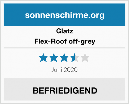 Glatz Flex-Roof off-grey Test