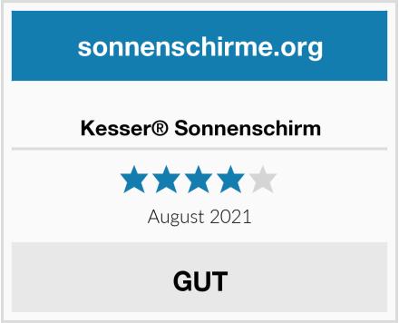No Name Kesser® Sonnenschirm Test