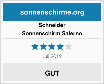 Schneider Sonnenschirm Salerno Test