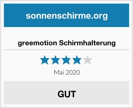 No Name greemotion Schirmhalterung Test