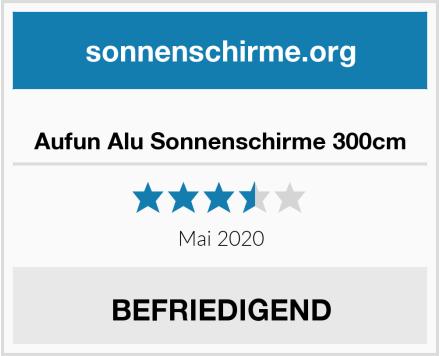 No Name Aufun Alu Sonnenschirme 300cm Test
