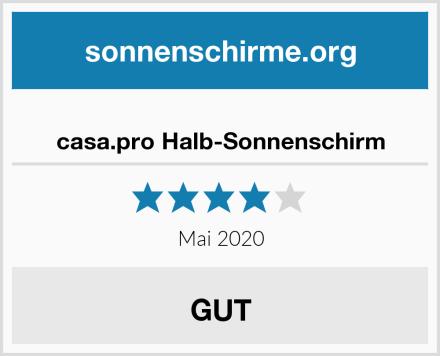 casa.pro Halb-Sonnenschirm Test