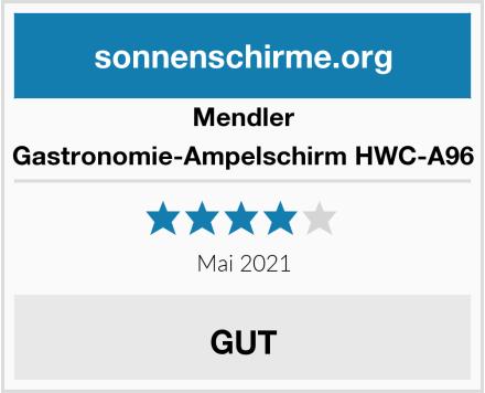Mendler Gastronomie-Ampelschirm HWC-A96 Test