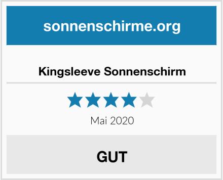 Kingsleeve Sonnenschirm Test
