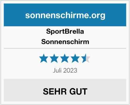 SportBrella Sonnenschirm Test