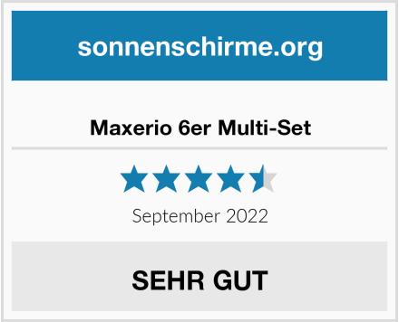 Maxerio 6er Multi-Set Test