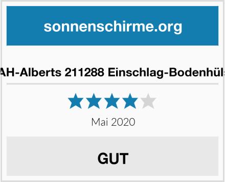 GAH-Alberts 211288 Einschlag-Bodenhülse Test