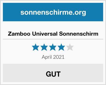 Zamboo Universal Sonnenschirm Test