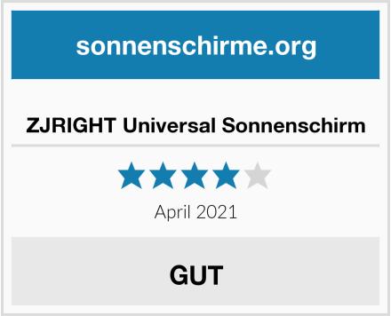 ZJRIGHT Universal Sonnenschirm Test