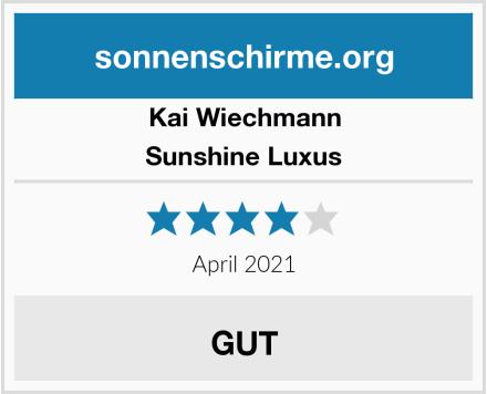 Kai Wiechmann Sunshine Luxus Test