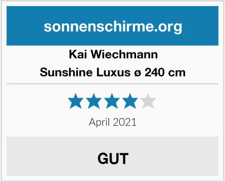 Kai Wiechmann Sunshine Luxus ø 240 cm Test