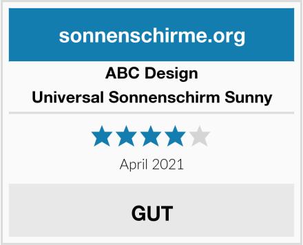 ABC Design Universal Sonnenschirm Sunny Test
