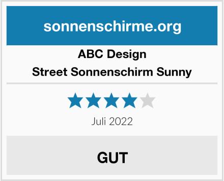 ABC Design Street Sonnenschirm Sunny Test