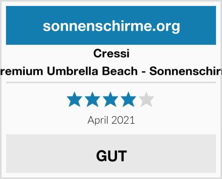 Cressi Premium Umbrella Beach - Sonnenschirm Test