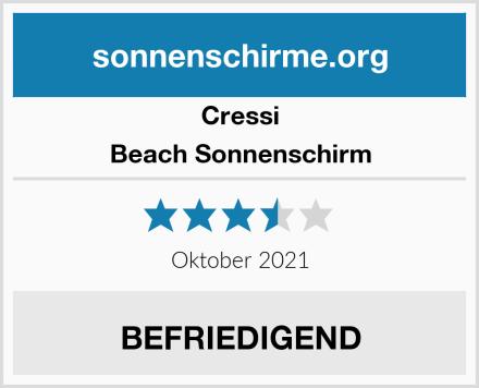 Cressi Beach Sonnenschirm Test