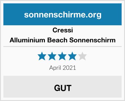 Cressi Alluminium Beach Sonnenschirm Test