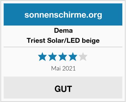 Dema Triest Solar/LED beige Test