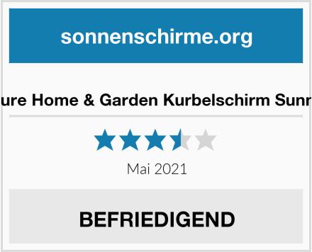 Pure Home & Garden Kurbelschirm Sunny Test
