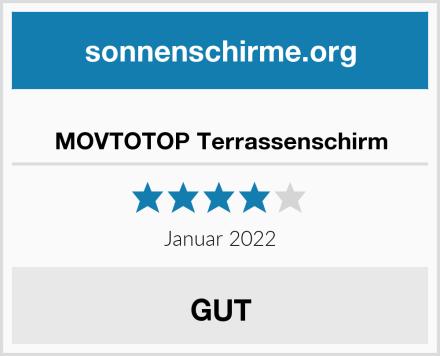 MOVTOTOP Terrassenschirm Test