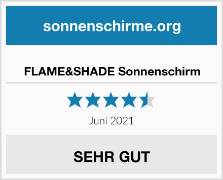 FLAME&SHADE Sonnenschirm Test