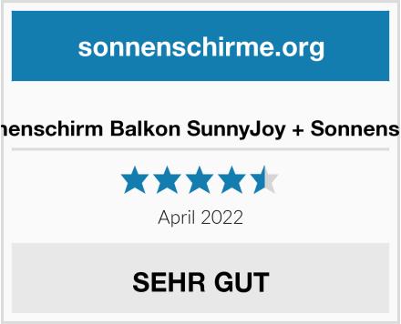4smile Sonnenschirm Balkon SunnyJoy + Sonnenschirmhalter Test